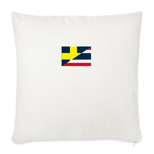 thailands flagga dddd png - Sofa pillowcase 17,3'' x 17,3'' (45 x 45 cm)