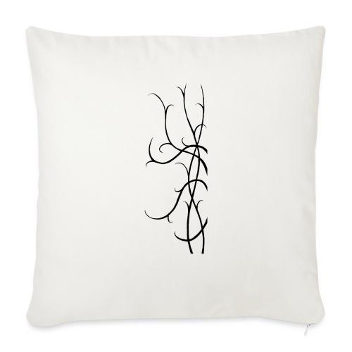 Tendrils - Sofa pillowcase 17,3'' x 17,3'' (45 x 45 cm)