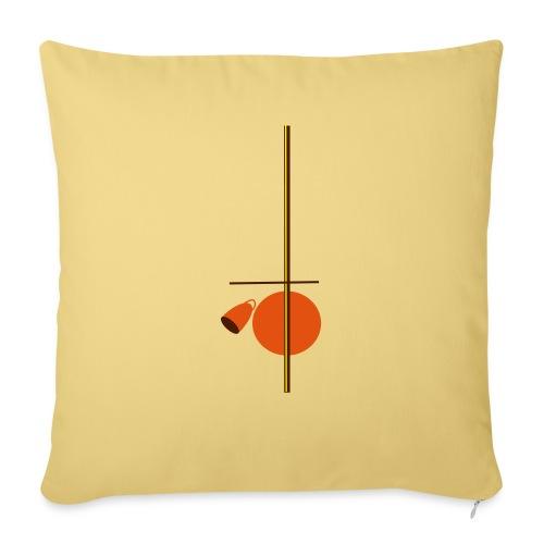 berimbau caxixi - Sofa pillowcase 17,3'' x 17,3'' (45 x 45 cm)