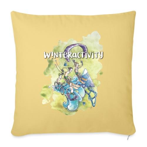 WINTERACTIVITY - Housse de coussin décorative 45x 45cm