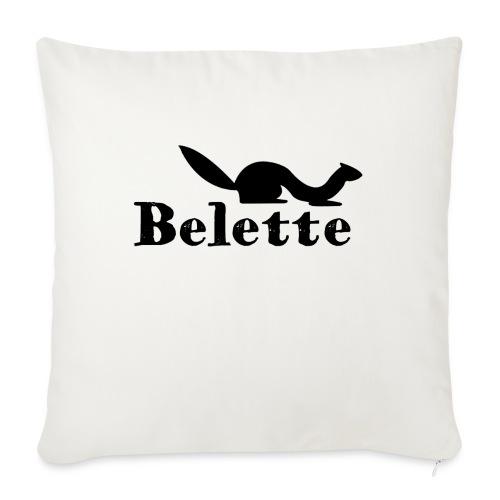 T-shirt Belette simple - Housse de coussin décorative 45x 45cm