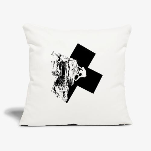 Escalada en roca - Sofa pillowcase 17,3'' x 17,3'' (45 x 45 cm)