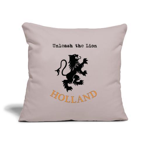 HOLLAND Oranje Unleash the LION - Sierkussenhoes, 45 x 45 cm