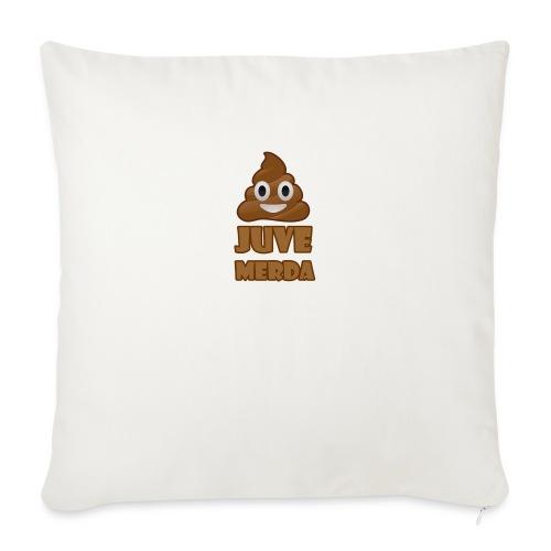 juve merda - Copricuscino per divano, 45 x 45 cm