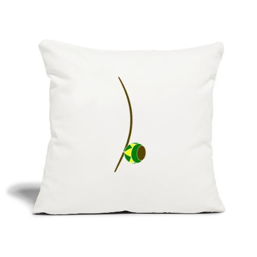 Berimbau - Sofa pillowcase 17,3'' x 17,3'' (45 x 45 cm)