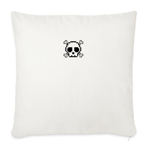Scripted. Skull - Sofa pillowcase 17,3'' x 17,3'' (45 x 45 cm)