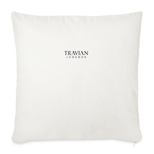 Font_legend_black - Sofa pillowcase 17,3'' x 17,3'' (45 x 45 cm)