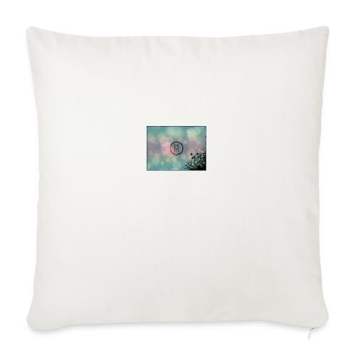 Llama in a circle - Sofa pillowcase 17,3'' x 17,3'' (45 x 45 cm)