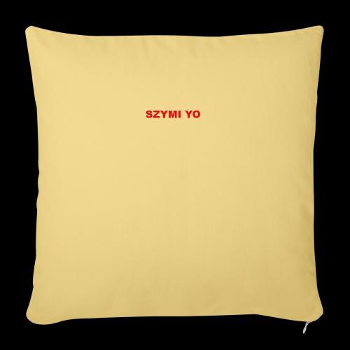 SZYMI YO LOGO - Poszewka na poduszkę 45 x 45 cm