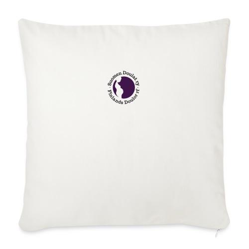 Suomen Doulat ry logo - Sohvatyynyn päällinen 45 x 45 cm