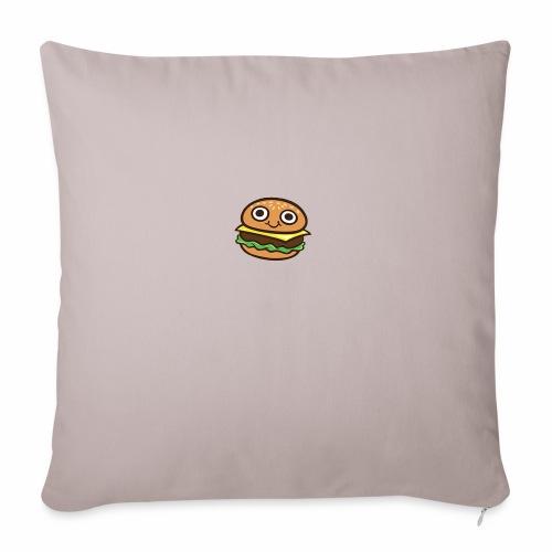 Burger Cartoon - Sierkussenhoes, 45 x 45 cm
