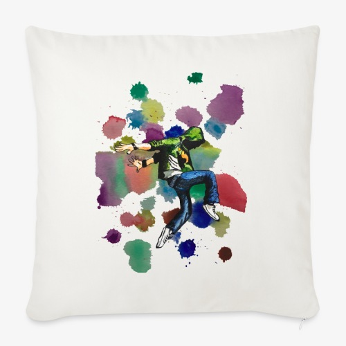 Dancer - Sofa pillowcase 17,3'' x 17,3'' (45 x 45 cm)