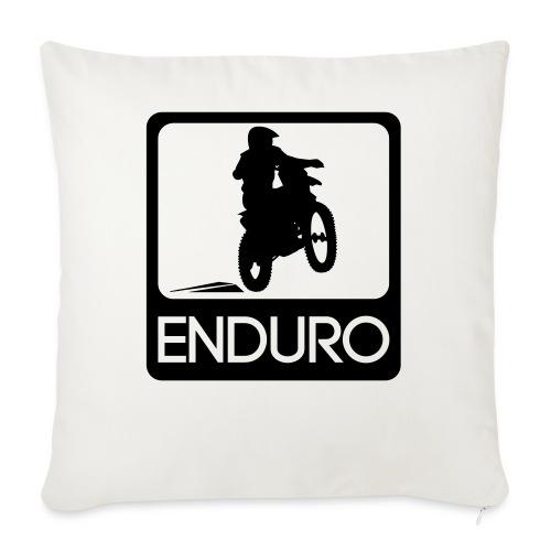 Enduro Rider - Sofakissenbezug 44 x 44 cm