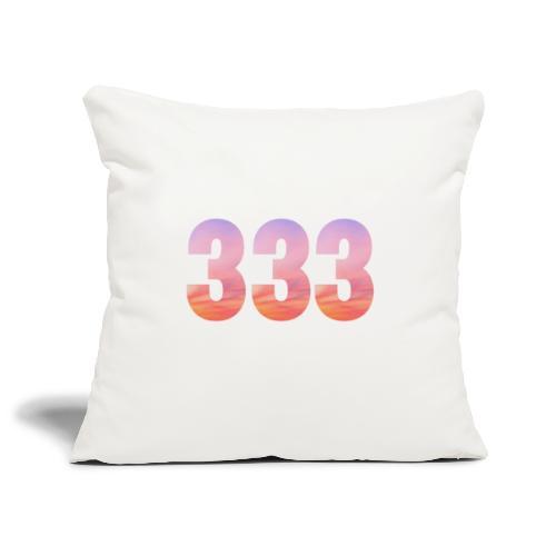 333 vous étes entouré de maitres ascensionnés - Housse de coussin décorative 45x 45cm