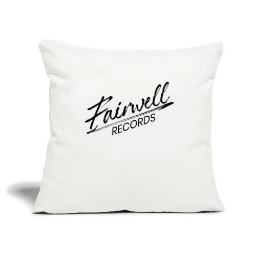 Fairwell Records - Black Collection - Pudebetræk 45 x 45 cm
