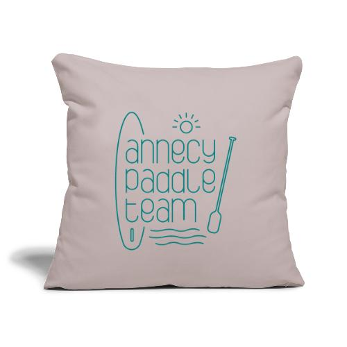 Annecy sup paddle team - Housse de coussin décorative 45x 45cm