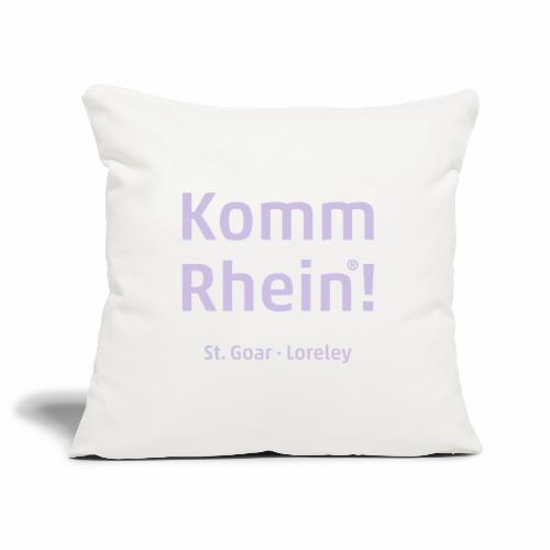 Komm Rhein! St. Goar · Loreley - Sofakissenbezug 44 x 44 cm