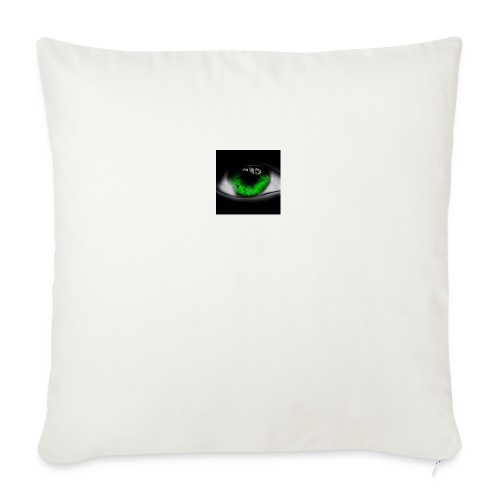 Green eye - Sofa pillowcase 17,3'' x 17,3'' (45 x 45 cm)