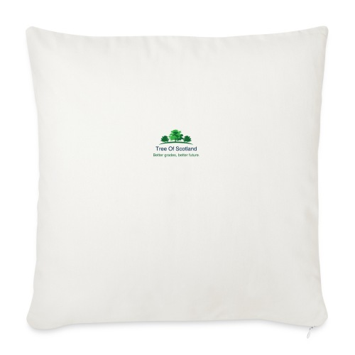 TOS logo shirt - Sofa pillowcase 17,3'' x 17,3'' (45 x 45 cm)