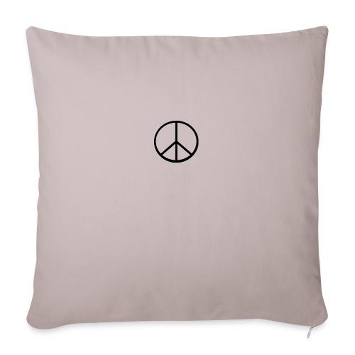 peace - Soffkuddsöverdrag, 45 x 45 cm