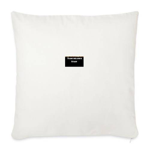 T-shirt staff Delanox - Housse de coussin décorative 45x 45cm