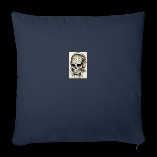 ab7a6a89ac2078fff2dd245fb15abaaf skull tattoo des - Sierkussenhoes, 45 x 45 cm