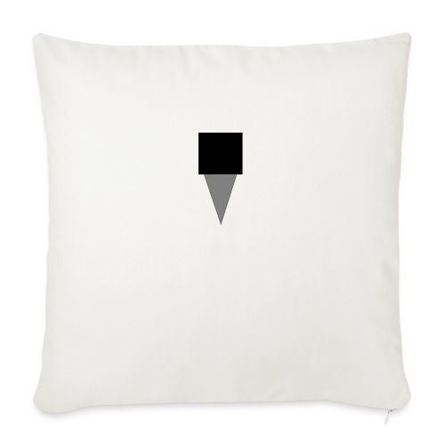 Mystery Mike Hat - Sofa pillowcase 17,3'' x 17,3'' (45 x 45 cm)