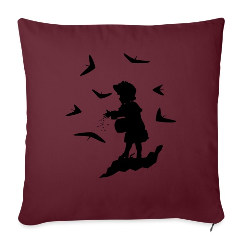 HG FEEDING WINGS - Sofa pillowcase 17,3'' x 17,3'' (45 x 45 cm)