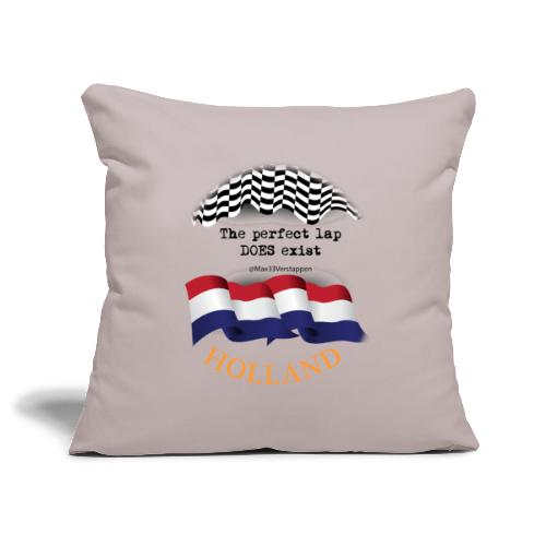 HOLLAND - @Max33Verstappen - Perfecte Race Ronde - Sierkussenhoes, 45 x 45 cm