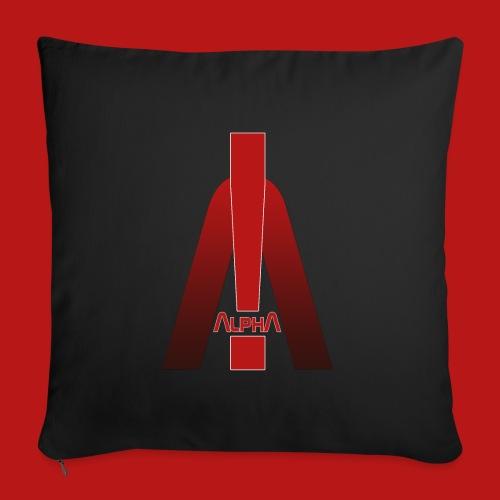 ALPHA - Winner wins! - Sofakissenbezug 44 x 44 cm