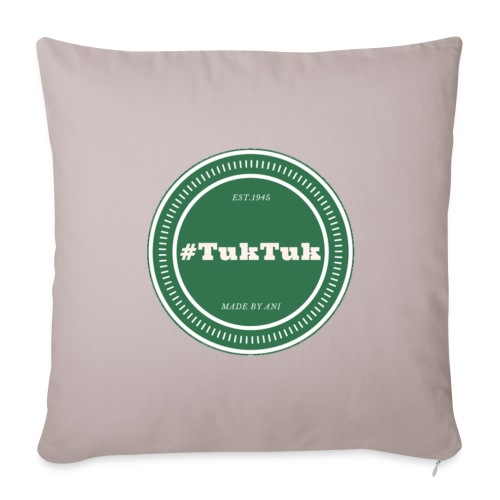 TukTuk Merch #Kopfkissenbezug - Sofa pillow cover 44 x 44 cm