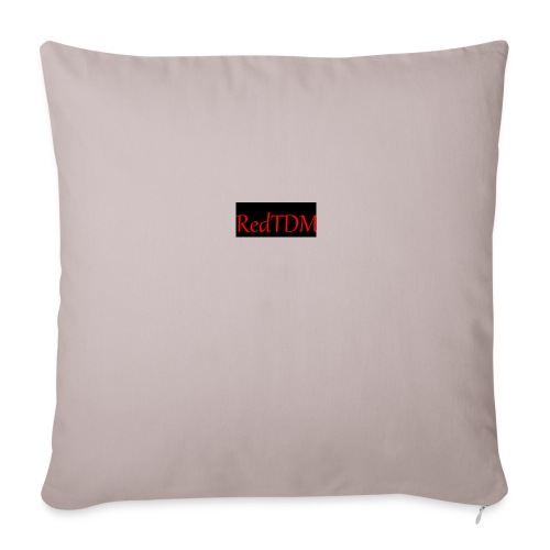 RedTDM - Sofa pillow cover 44 x 44 cm