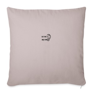 SenseRecord Vit Mugg - Sofa pillow cover 44 x 44 cm