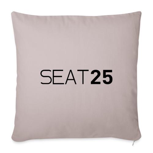 Seat25 Logo Dark - Sofa pillow cover 44 x 44 cm