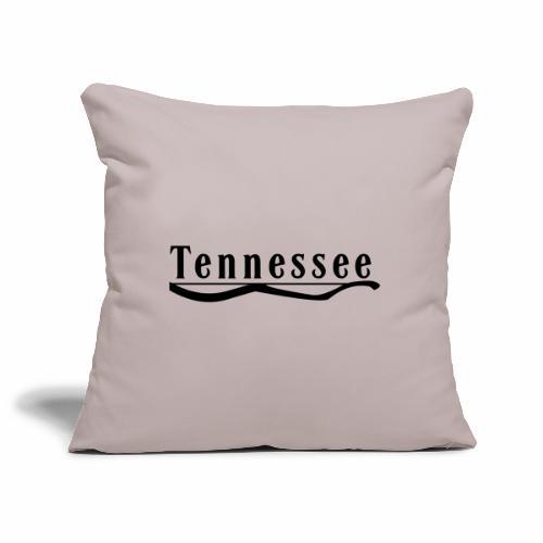 Tennessee - Housse de coussin décorative 44x 44cm