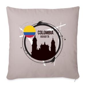 Bogota Kolumbien - Sofakissenbezug 44 x 44 cm