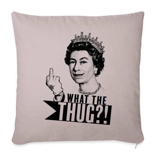 Elizabeth, queen of thug - Housse de coussin décorative 44x 44cm