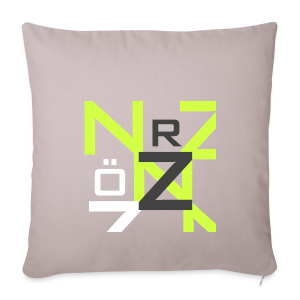 Nörthstat Group™ Clear Transparent Main Logo - Sofa pillow cover 44 x 44 cm