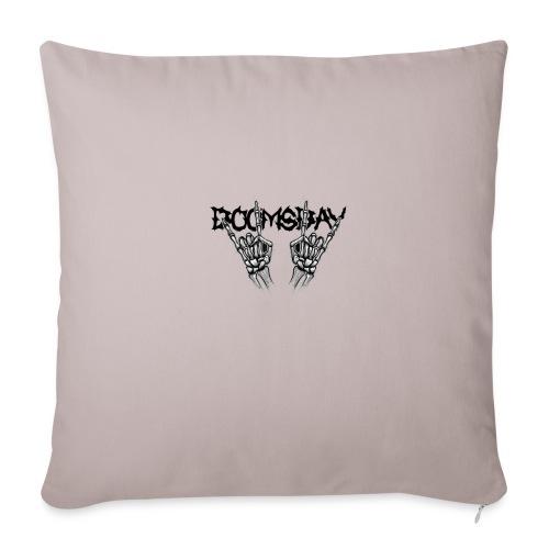 Doomsday logo - Soffkuddsöverdrag, 44 x 44 cm