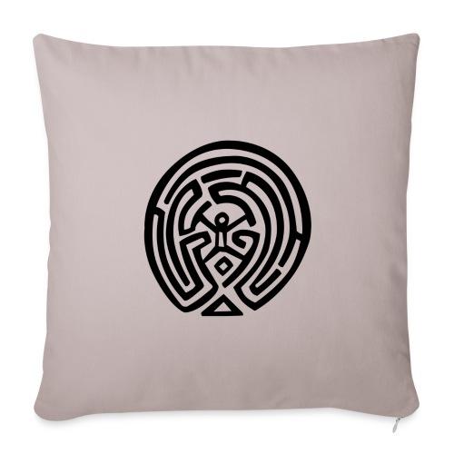 Maze_Westworld - Copricuscino per divano, 44 x 44 cm