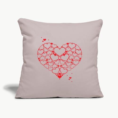 Love.❣️ - Housse de coussin décorative 44x 44cm