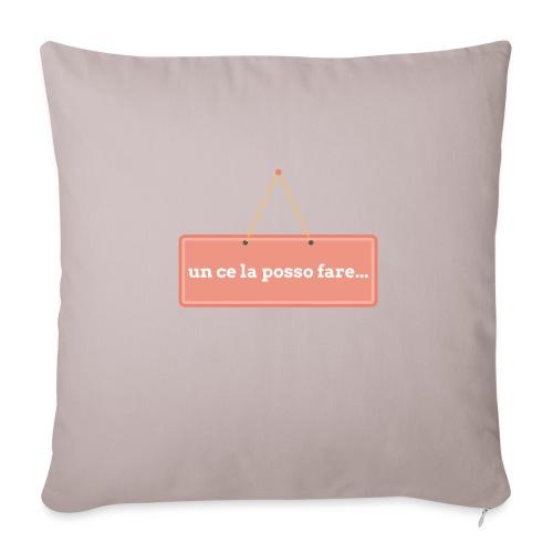 un ce la posso fare - Copricuscino per divano, 44 x 44 cm