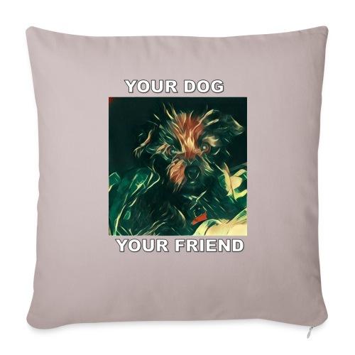 Si amas tu perro seguro amaras Esta Linea - Sofa pillow cover 44 x 44 cm