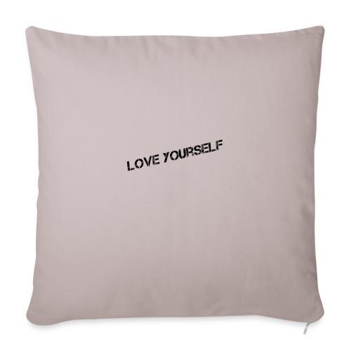 Love yourself - Sohvatyynyn päällinen 44 x 44 cm