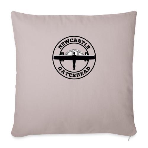 NEW BIGGER LOGO - Sofa pillow cover 44 x 44 cm