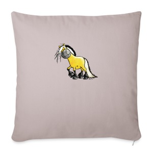 fjord_horse-png - Sofa pillow cover 44 x 44 cm