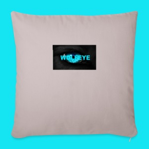 WolfEye T-Shirt - Sofa pillow cover 44 x 44 cm