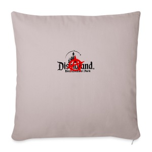 Anarchy ain't on sale(Dismaland unofficial gadget) - Sofa pillow cover 44 x 44 cm