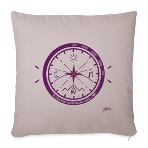 AWEN // adventure compass - Sofa pillow cover 44 x 44 cm