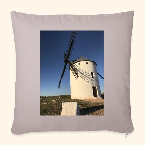 Molino Campo de Criptana Castilla la Mancha - Funda de cojín, 45 x 45 cm